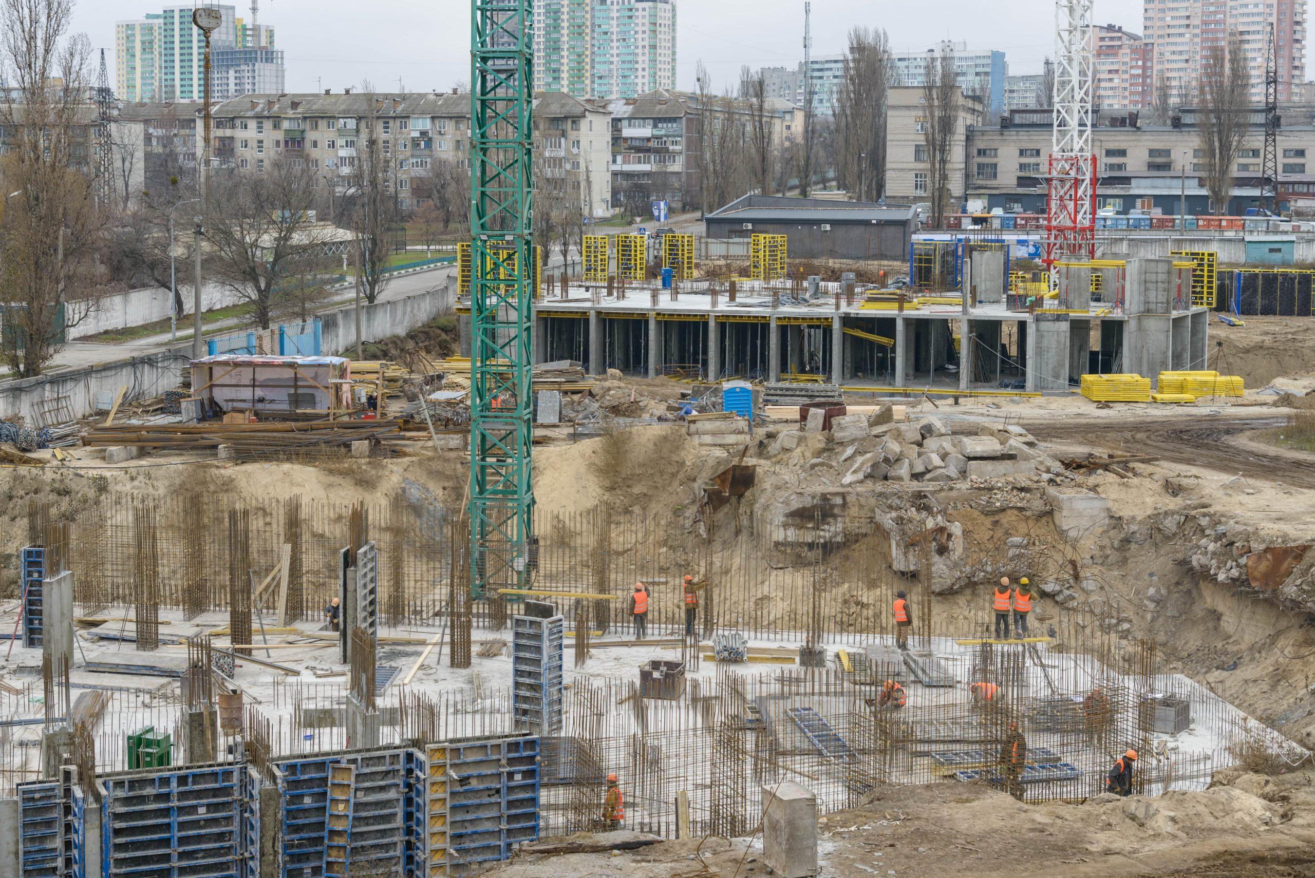 Хід будівництва ЖК Star City в листопаді 2020