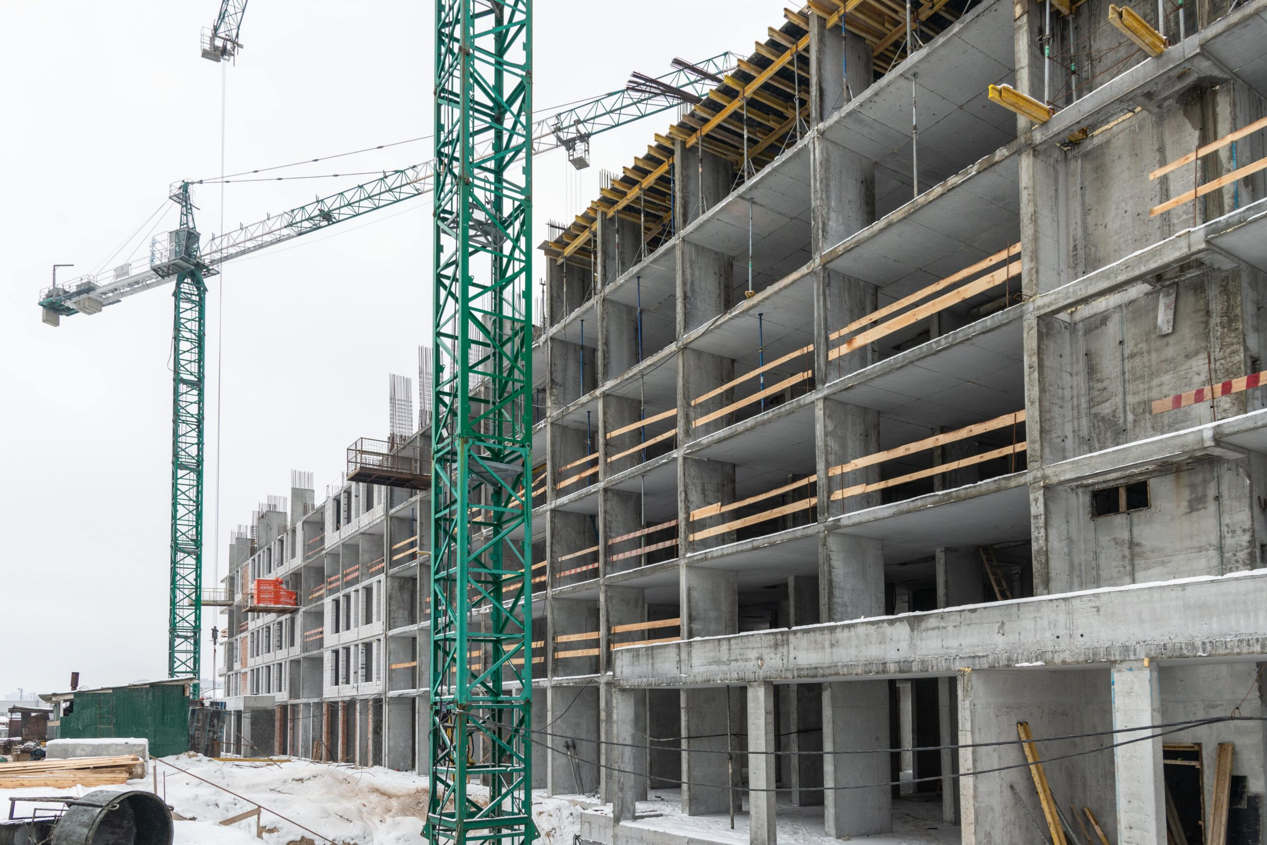 Хід будівництва ЖК Star City у січні 2021
