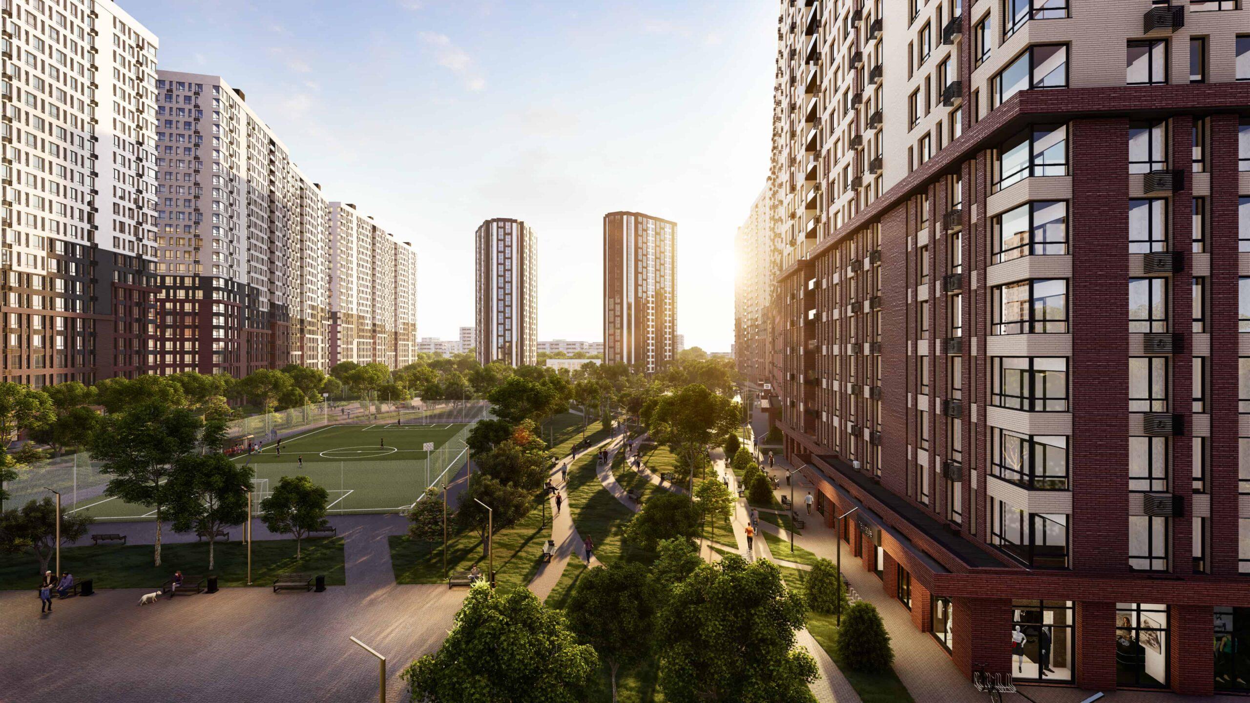 Відеозвіт ходу будівництва ЖК Star City в лютому 2021